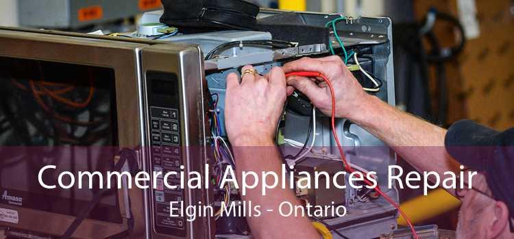 Commercial Appliances Repair Elgin Mills - Ontario