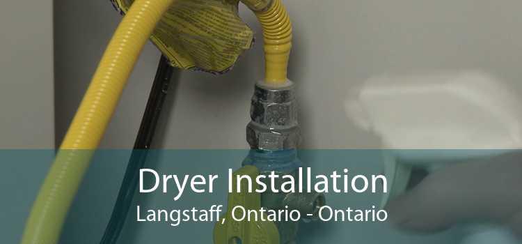 Dryer Installation Langstaff, Ontario - Ontario