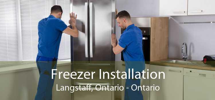 Freezer Installation Langstaff, Ontario - Ontario
