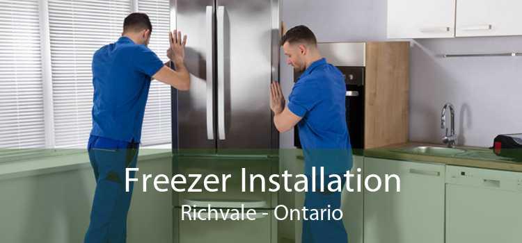 Freezer Installation Richvale - Ontario