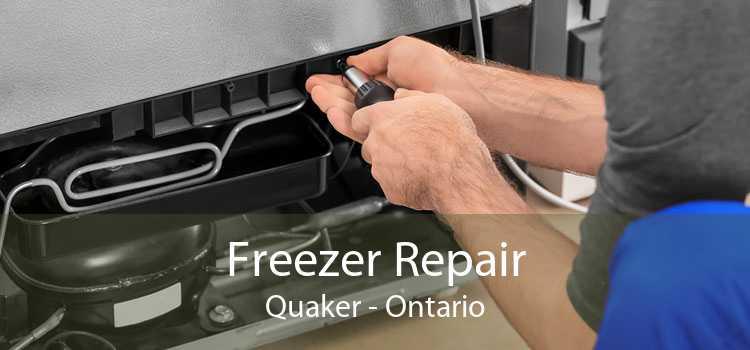 Freezer Repair Quaker - Ontario
