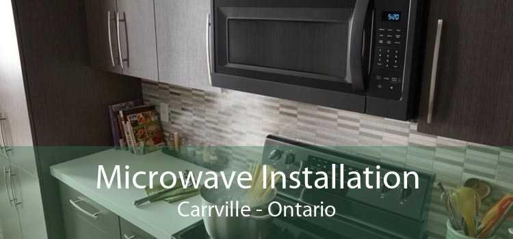 Microwave Installation Carrville - Ontario