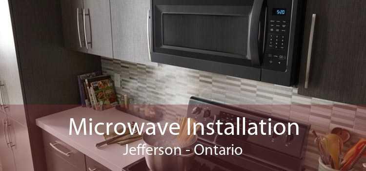 Microwave Installation Jefferson - Ontario