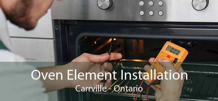 Oven Element Installation Carrville - Ontario