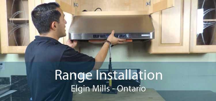 Range Installation Elgin Mills - Ontario
