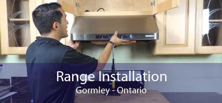 Range Installation Gormley - Ontario