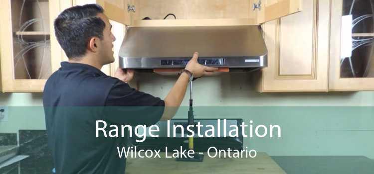 Range Installation Wilcox Lake - Ontario