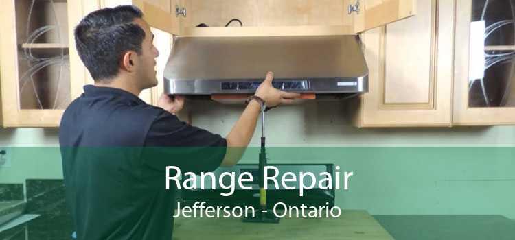 Range Repair Jefferson - Ontario