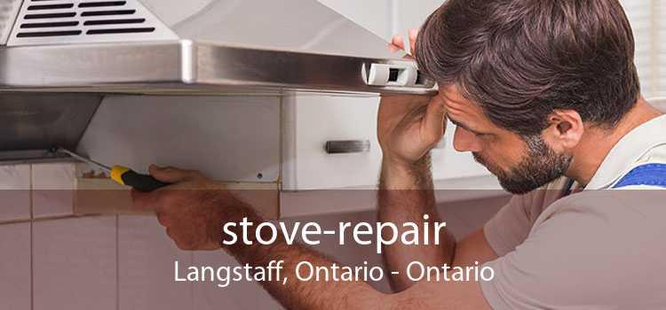 stove-repair Langstaff, Ontario - Ontario