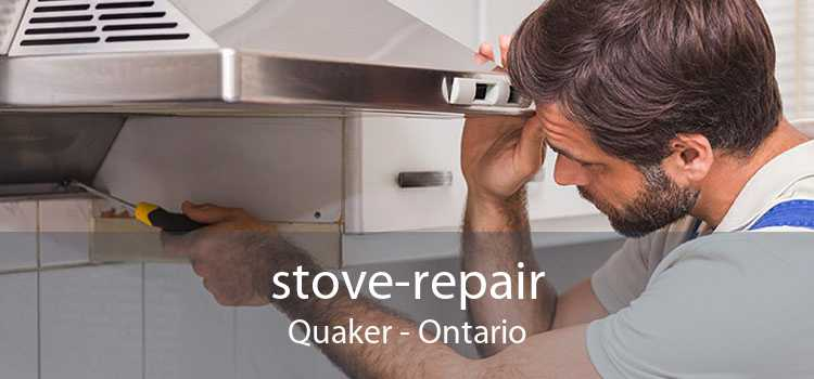 stove-repair Quaker - Ontario