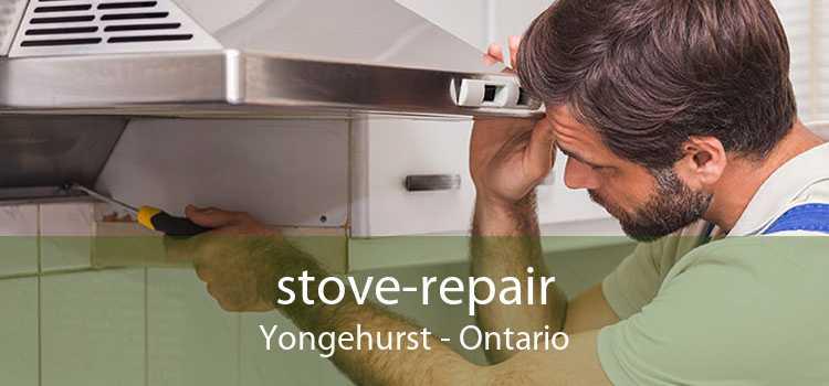 stove-repair Yongehurst - Ontario