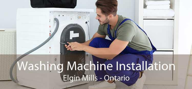 Washing Machine Installation Elgin Mills - Ontario