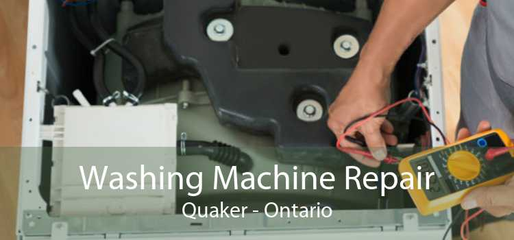 Washing Machine Repair Quaker - Ontario